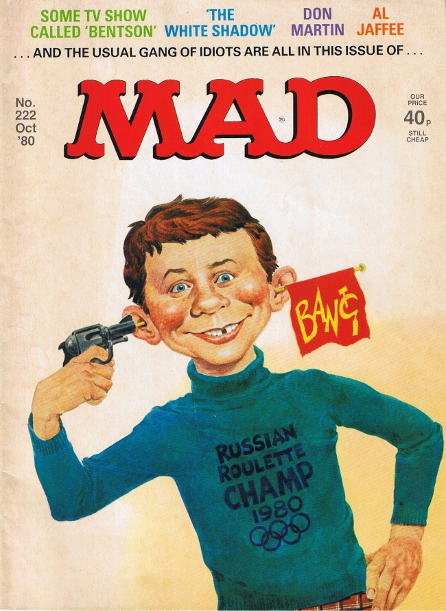 MAD Magazine #222 • Great Britain