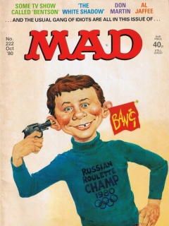 Go to MAD Magazine #222 • Great Britain