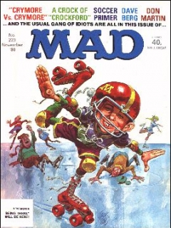 Go to MAD Magazine #223 • Great Britain