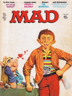 Go to MAD Magazine #227 • Great Britain