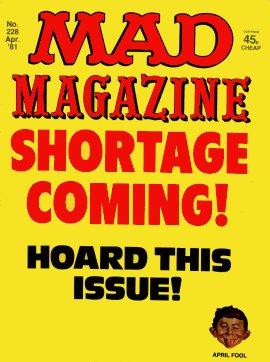 MAD Magazine #228 • Great Britain