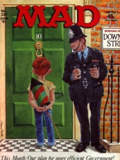 Go to MAD Magazine #230 • Great Britain