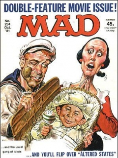 Go to MAD Magazine #234 • Great Britain