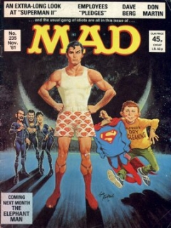 Go to MAD Magazine #235 • Great Britain