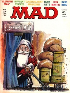 Go to MAD Magazine #236 • Great Britain
