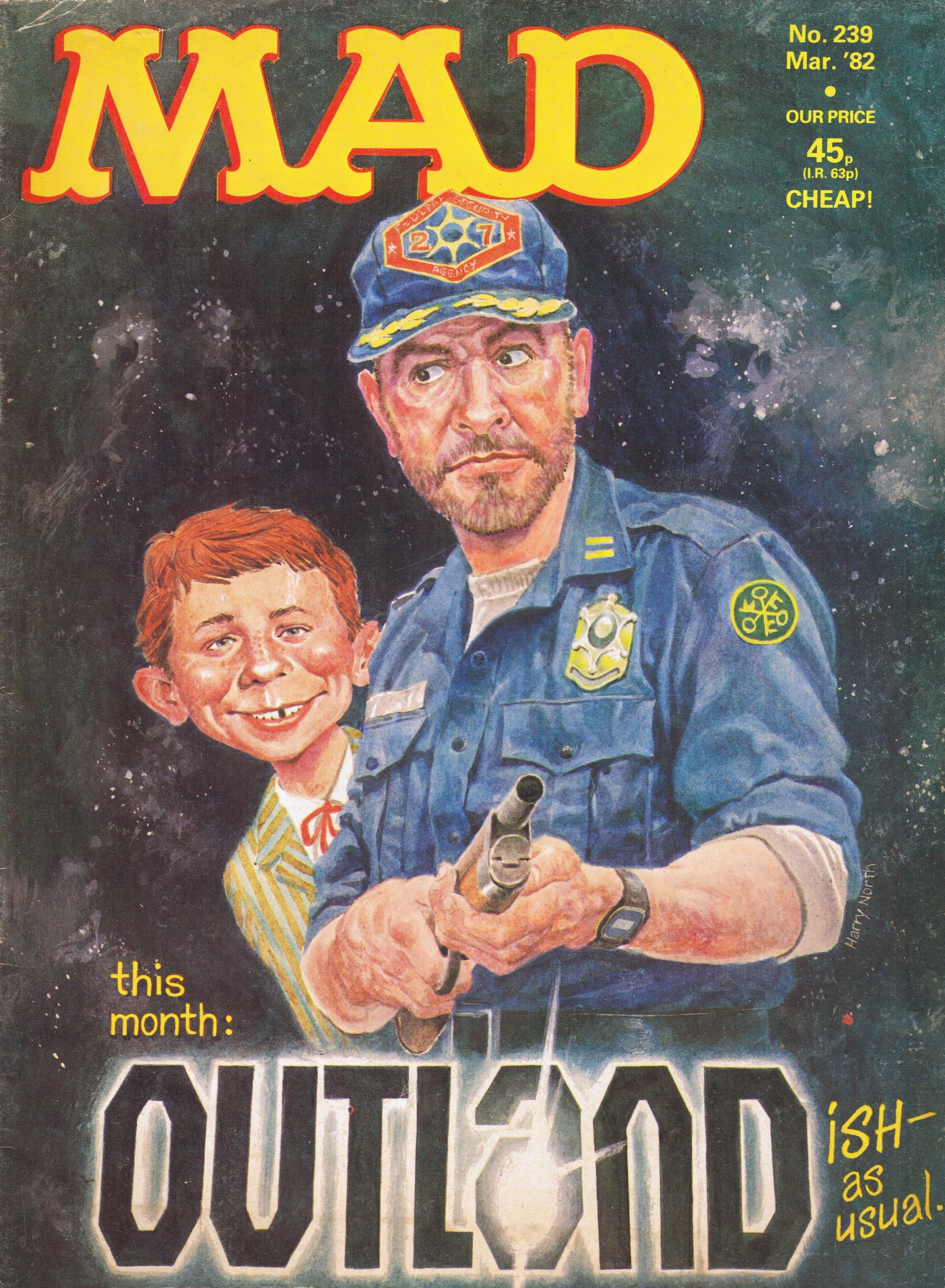 MAD Magazine #239 • Great Britain