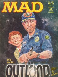 Go to MAD Magazine #239 • Great Britain