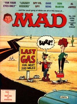 MAD Magazine #240 • Great Britain