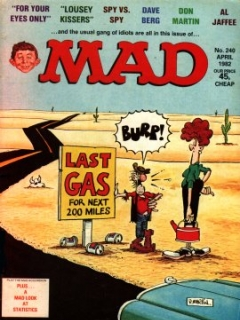 Go to MAD Magazine #240 • Great Britain