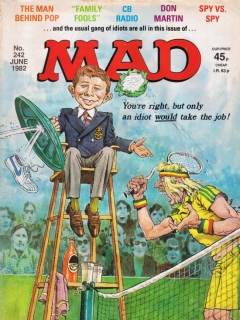 Go to MAD Magazine #242 • Great Britain