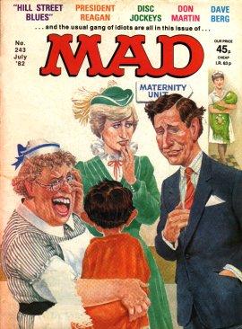 MAD Magazine #243 • Great Britain