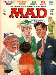 Go to MAD Magazine #243 • Great Britain