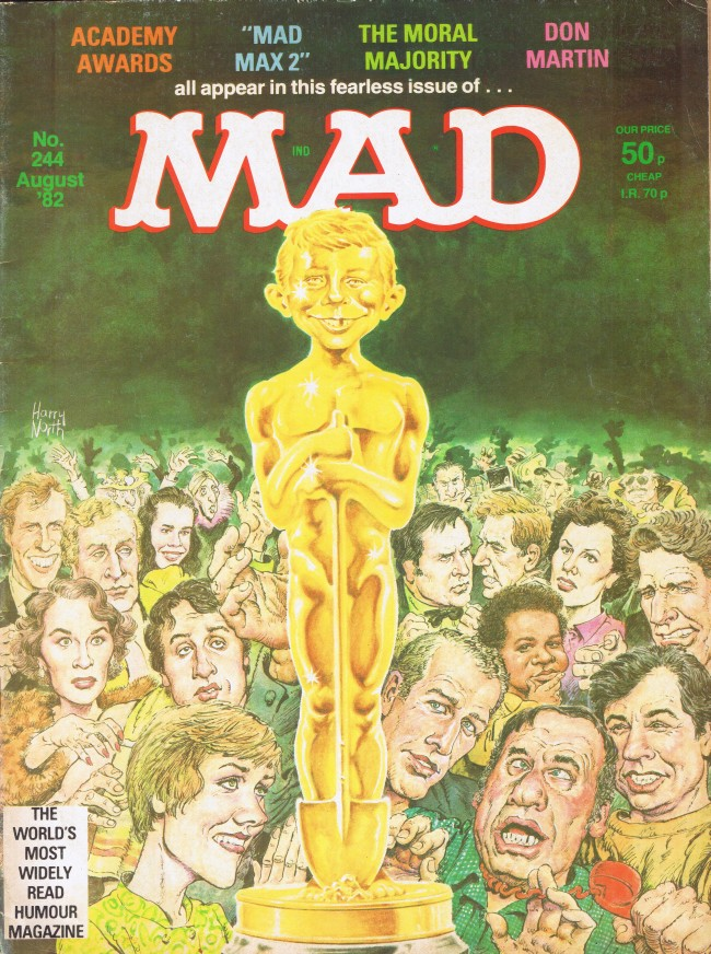 MAD Magazine #244 • Great Britain
