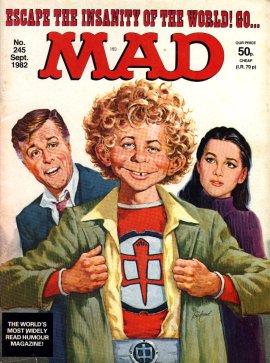 MAD Magazine #245 • Great Britain
