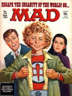 Go to MAD Magazine #245 • Great Britain