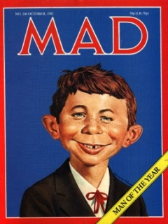 Go to MAD Magazine #246 • Great Britain