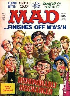 MAD Magazine #248 • Great Britain