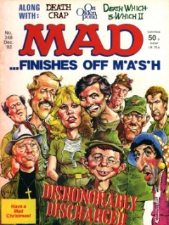 Go to MAD Magazine #248 • Great Britain