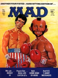 Go to MAD Magazine #249 • Great Britain
