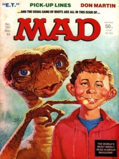 Go to MAD Magazine #251 • Great Britain