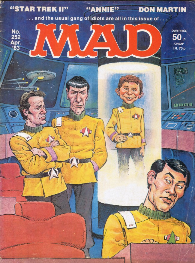 MAD Magazine #252 • Great Britain