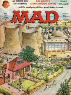 Go to MAD Magazine #254 • Great Britain