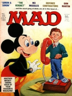 Go to MAD Magazine #255 • Great Britain