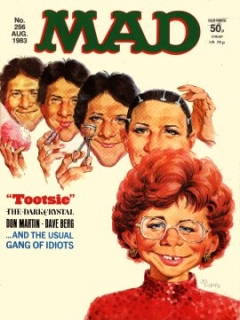 Go to MAD Magazine #256 • Great Britain