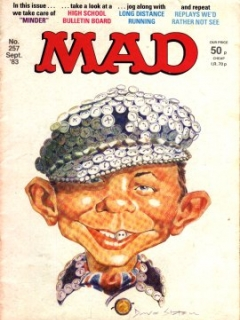 Go to MAD Magazine #257 • Great Britain