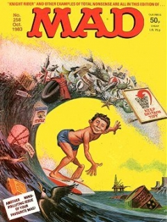 Go to MAD Magazine #258 • Great Britain