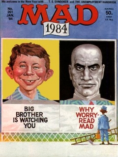 Go to MAD Magazine #261 • Great Britain