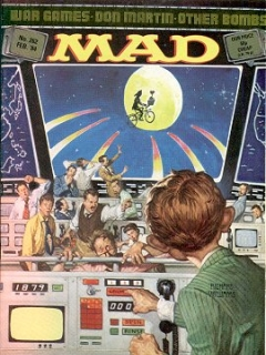 Go to MAD Magazine #262 • Great Britain