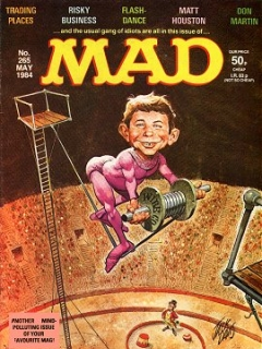 Go to MAD Magazine #265 • Great Britain