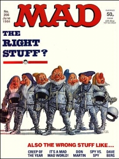 Go to MAD Magazine #266 • Great Britain