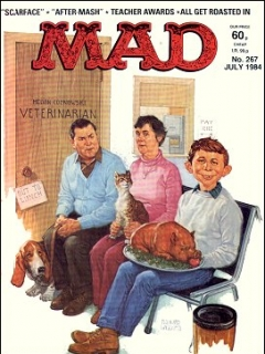 Go to MAD Magazine #267 • Great Britain