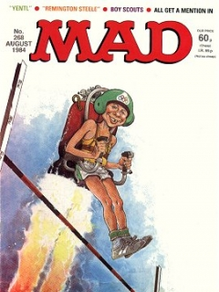 Go to MAD Magazine #268 • Great Britain