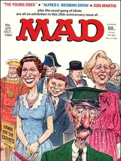 Go to MAD Magazine #270 • Great Britain