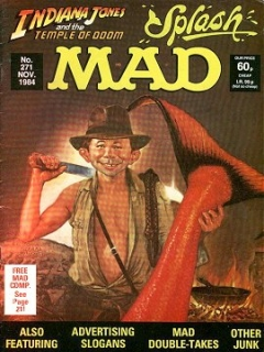 Go to MAD Magazine #271 • Great Britain