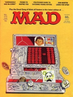 Go to MAD Magazine #273 • Great Britain