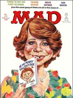 Go to MAD Magazine #274 • Great Britain