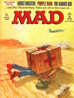 Go to MAD Magazine #275 • Great Britain