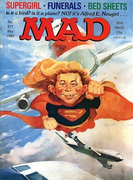 MAD Magazine #277 • Great Britain