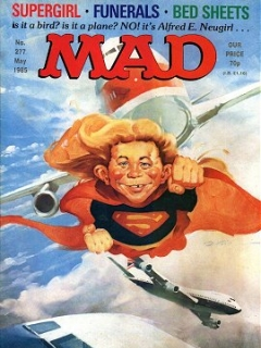 Go to MAD Magazine #277 • Great Britain