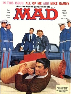 Go to MAD Magazine #278 • Great Britain