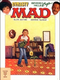 Go to MAD Magazine #279 • Great Britain