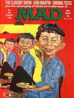 Go to MAD Magazine #280 • Great Britain