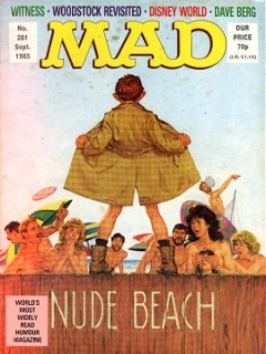 Go to MAD Magazine #281 • Great Britain