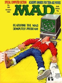 Go to MAD Magazine #282 • Great Britain