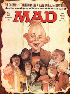 Go to MAD Magazine #283 • Great Britain