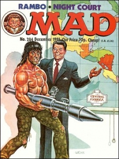 Go to MAD Magazine #284 • Great Britain